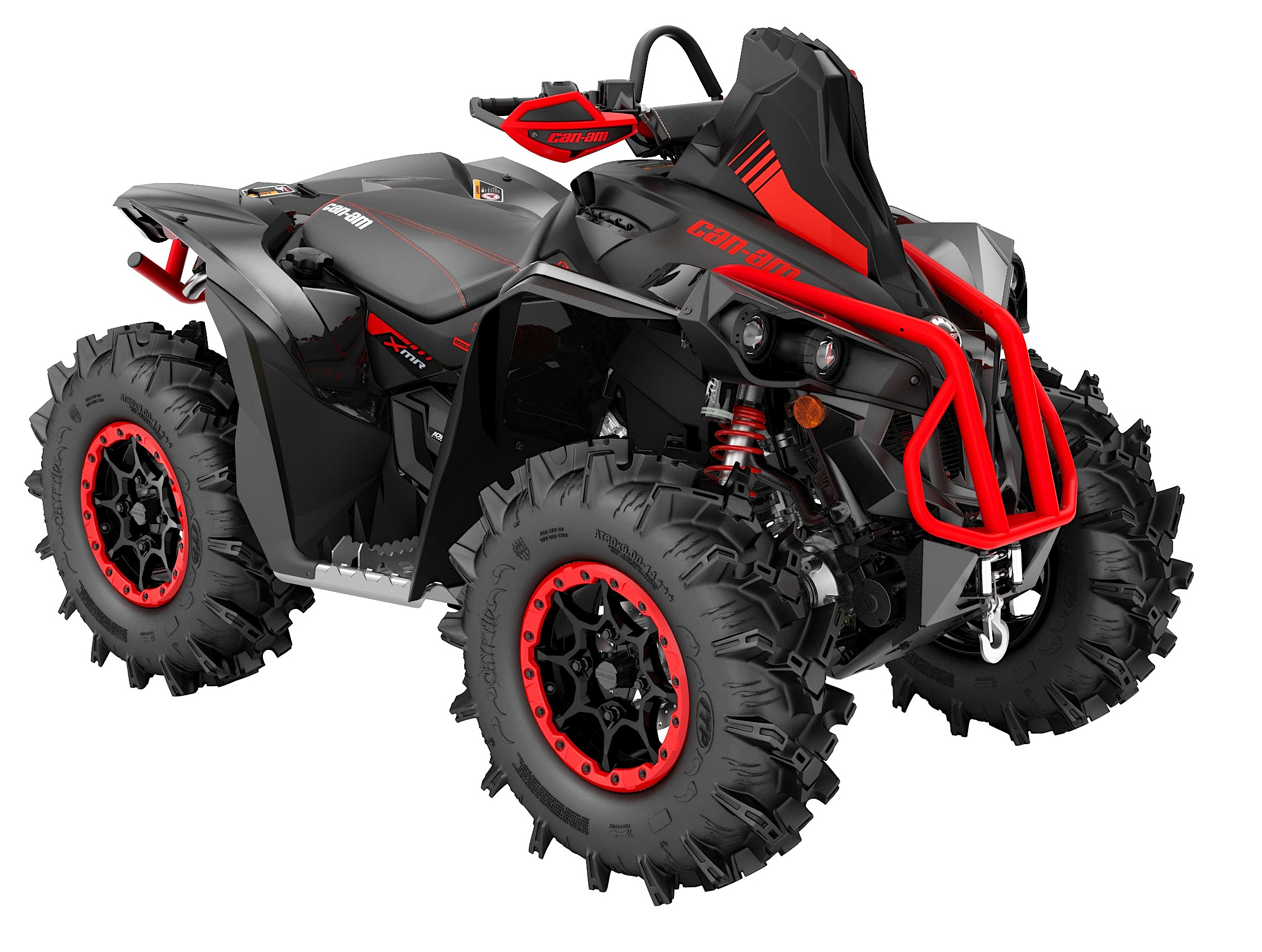 2018-renegade-xmr-1000r-can-am-red-black-3-4-front